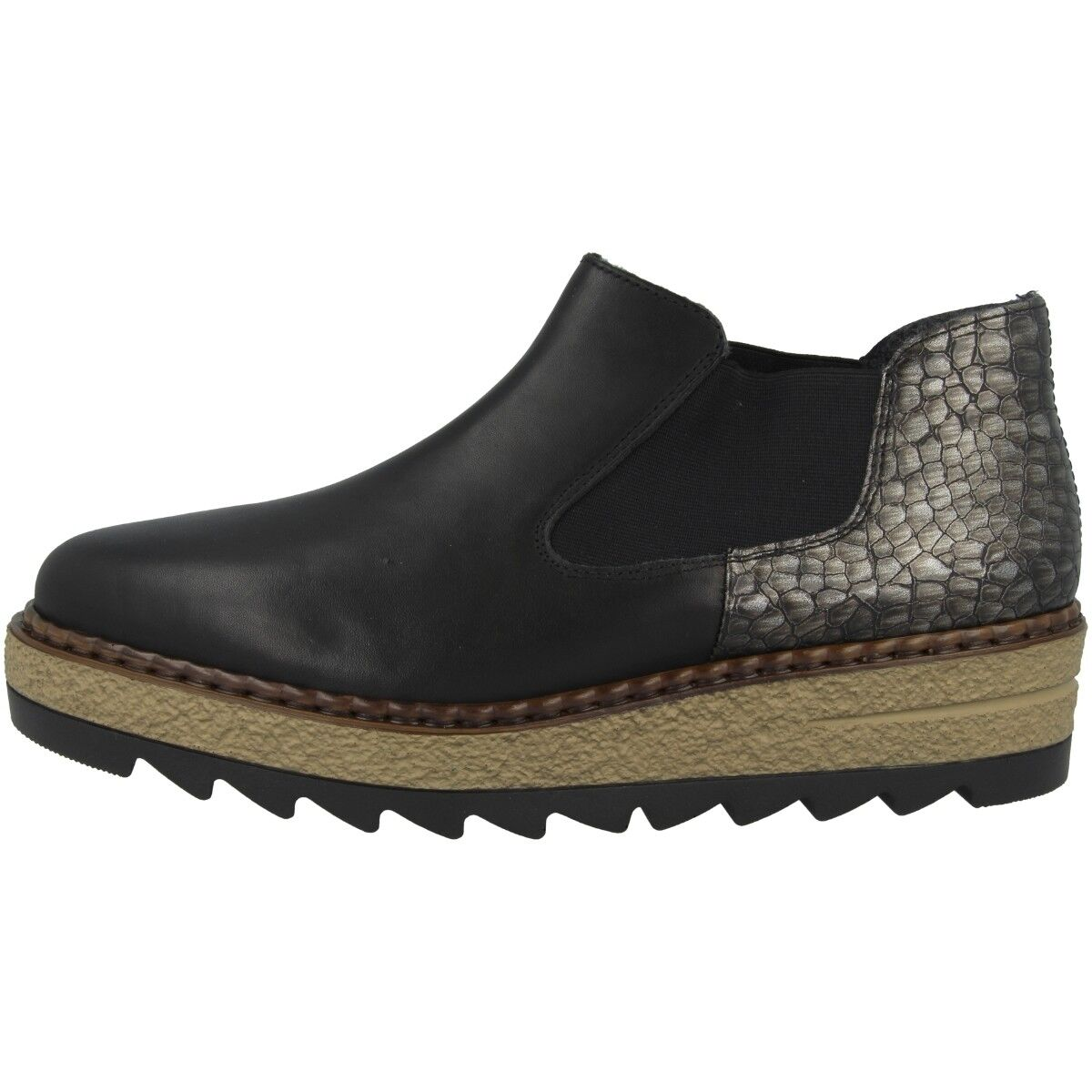 Rieker Antistress Clarino-Merida Schuhe Damen Antistress Rieker Slipper Chelsea Boots 55890-00 c59215