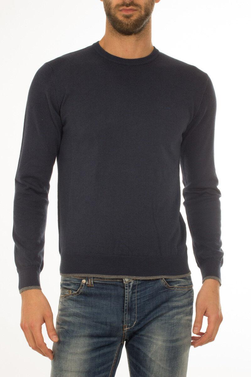 Maglia Maglietta Armani Jeans Sweater REGULAR FIT  Herren Blu 8N6M956M13Z 1549