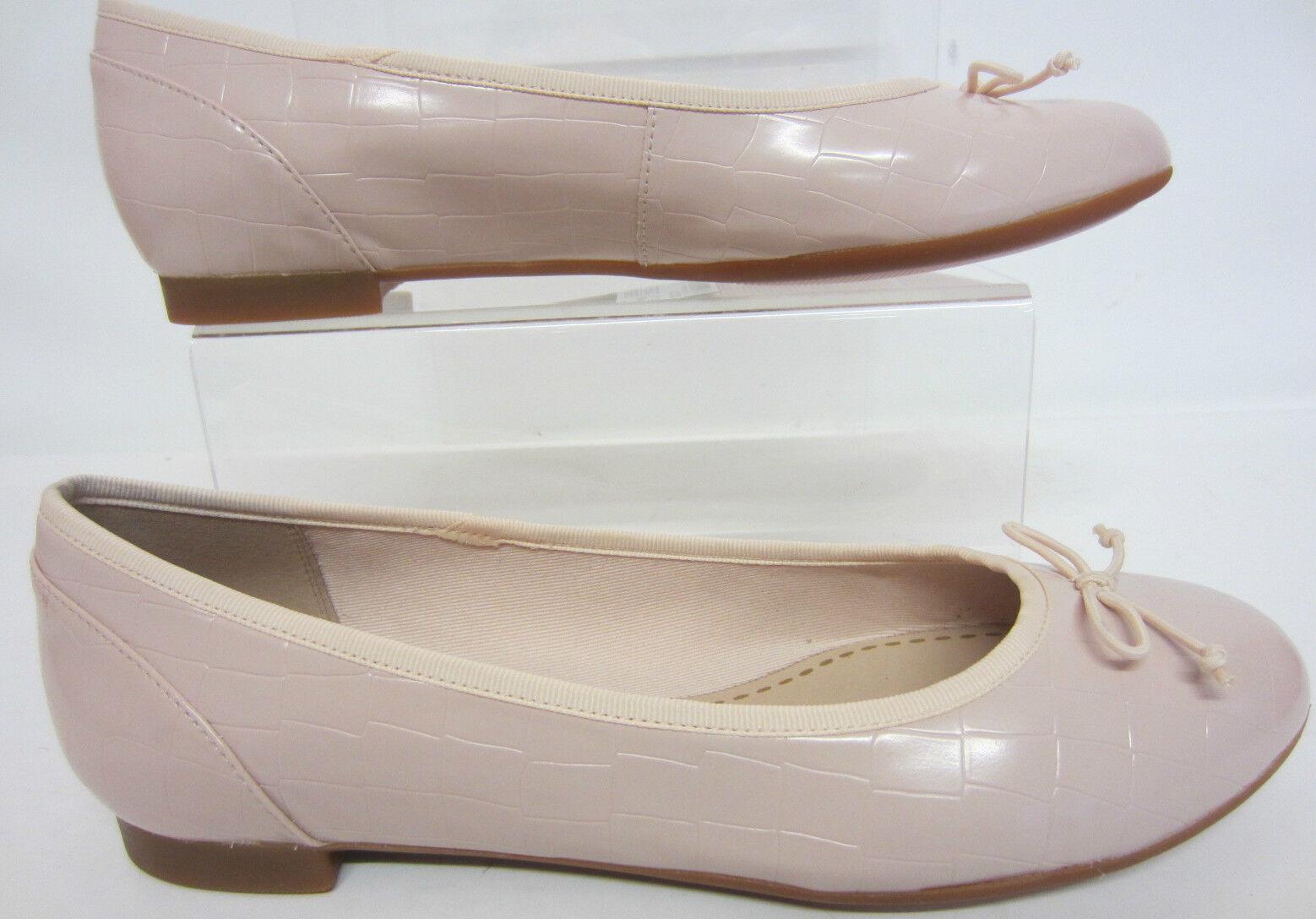 Clarks Couture Floraison Chaussures pour Femmes Confort Semelle Rose Chair