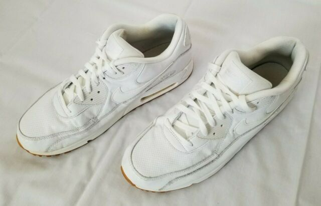 90 Nike Mens Leather White Ostrich 705012 111 Running Pa Max Air SBpOn6SP
