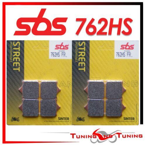 762 HS Pastiglie Anteriori SBS HS Sinter Per KTM SUPERMOTO 990 2011 11 2012 12