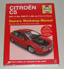 Reparaturanleitung Citroen C5 Benziner + Diesel, Baujahre 2001 - 2008