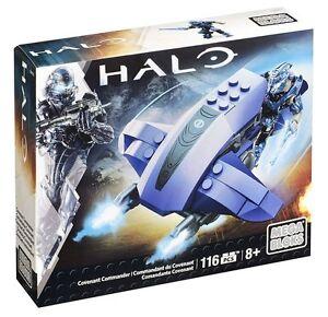 Mega Bloks Halo Covenant Commander Building Set