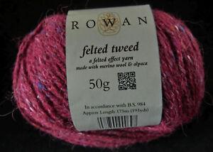 17-100-g-50-g-Rowan-FELTED-TWEED-Fb-186-Tawny-Beere-Lot-0963-3558
