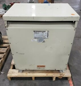 Image Is Loading GE 9T23B4007G22 75 KVA Transformer 460V 266V 1484SR