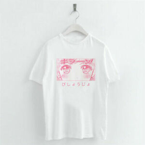 Harajuku-Japan-Anime-Sailor-Moon-Print-T-Shirts-Short-Sleeve-Summer-Women-Tops