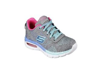 menthe Appeal Skechers Flex Gris Girls 81715 C7f5Xqfw
