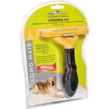 FURminator für langhaarige große Hunde, deShedding-Pflege Werkzeug Fell Pflege