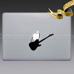 guitar electric v1 decal sticker for macbook apple jdm 311 ovation fender gibson ebay. Black Bedroom Furniture Sets. Home Design Ideas