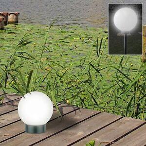led solar kugelleuchte 3 in 1 kugellampe leuchtkugel gartenkugel gartenleuchte ebay. Black Bedroom Furniture Sets. Home Design Ideas