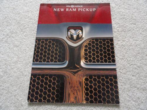 1994 Dodge Ram Truck Sales Brochure