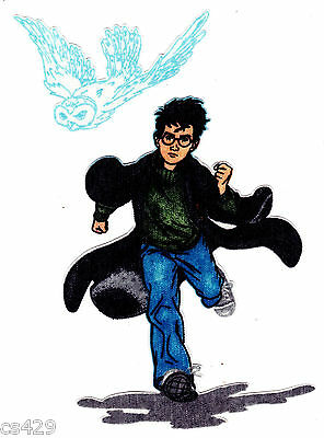 """2/"""" Harry potter snitch fabric applique iron on character"""