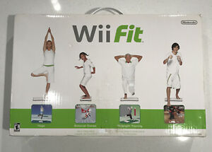 Nintendo Wii Fit Game and Balance Board Bundle