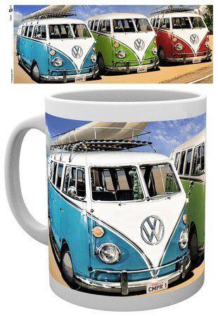 Volkswagen Camper Ceramic Mug Tasse GB EYE