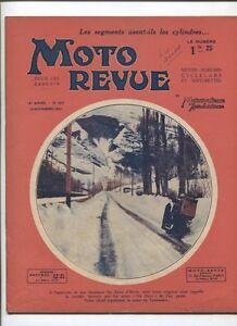 Section SpéCiale Moto Revue N°453 ; 14 Novembre 1931 : Les Segments Dans Un Moteur