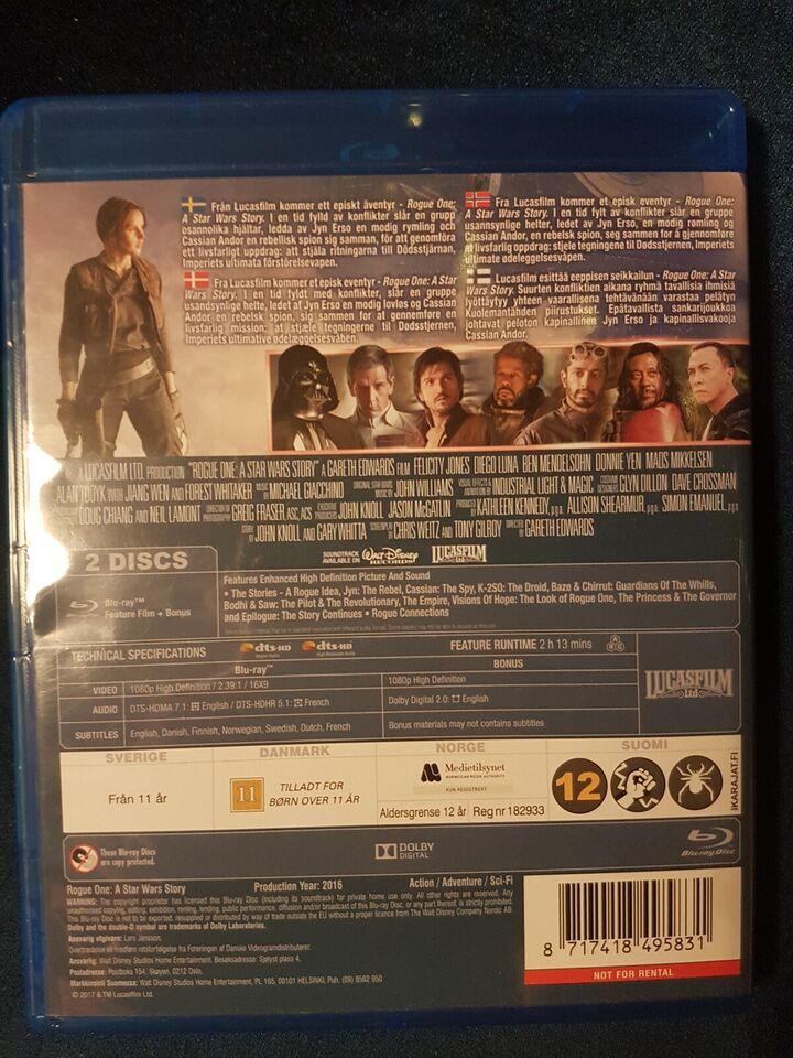 Rogue One: A star wars Story, instruktør Gareth edwards,