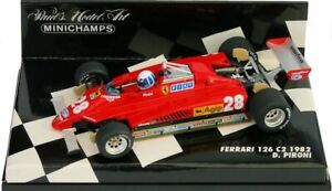 MINICHAMPS-430-820028-FERRARI-F126-C2-F1-model-car-D-Pironi-1982-1-43rd-scale