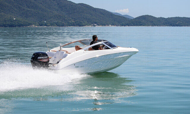 Ny FS Yacht 180BR 100hk Suzuki og masser af uds...
