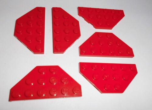 6 Trapez-Platten 6x3 in rot aus 7939 6862 6923 4537 7994 7898 75913 Lego 2419