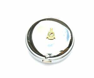 Royal Marines Regiment Emblem Travel Chrome Alarm Clock Ideal Army Gift BK56