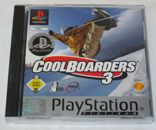 WIE NEU PS1 - Cool Boarders 3 (Sony PlayStation 1, 2000)