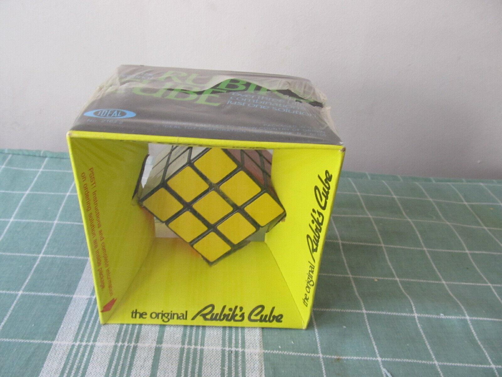 Idéal de  L' ORIGINAL  Rubik's Cube Neuf Sous Emballage