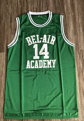 Will Smith #14 The Fresh Prince Of Bel-Air Basketball Jersey Sewn Gold w// Black