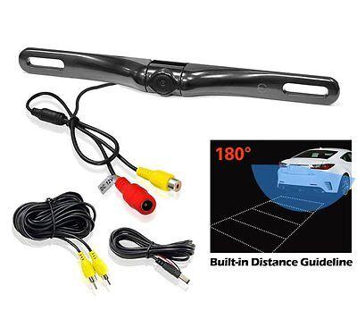 ® EC180-18 100% Waterproof HD Car Rear View Backup Camera 180° Viewing Angle