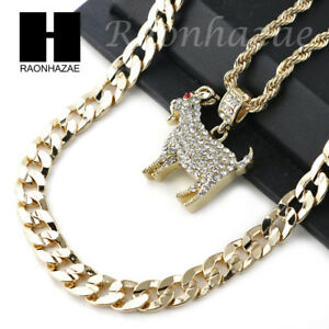 Image Is Loading ICED OUT KODAK BLACK GOAT CHARM DIAMOND CUT