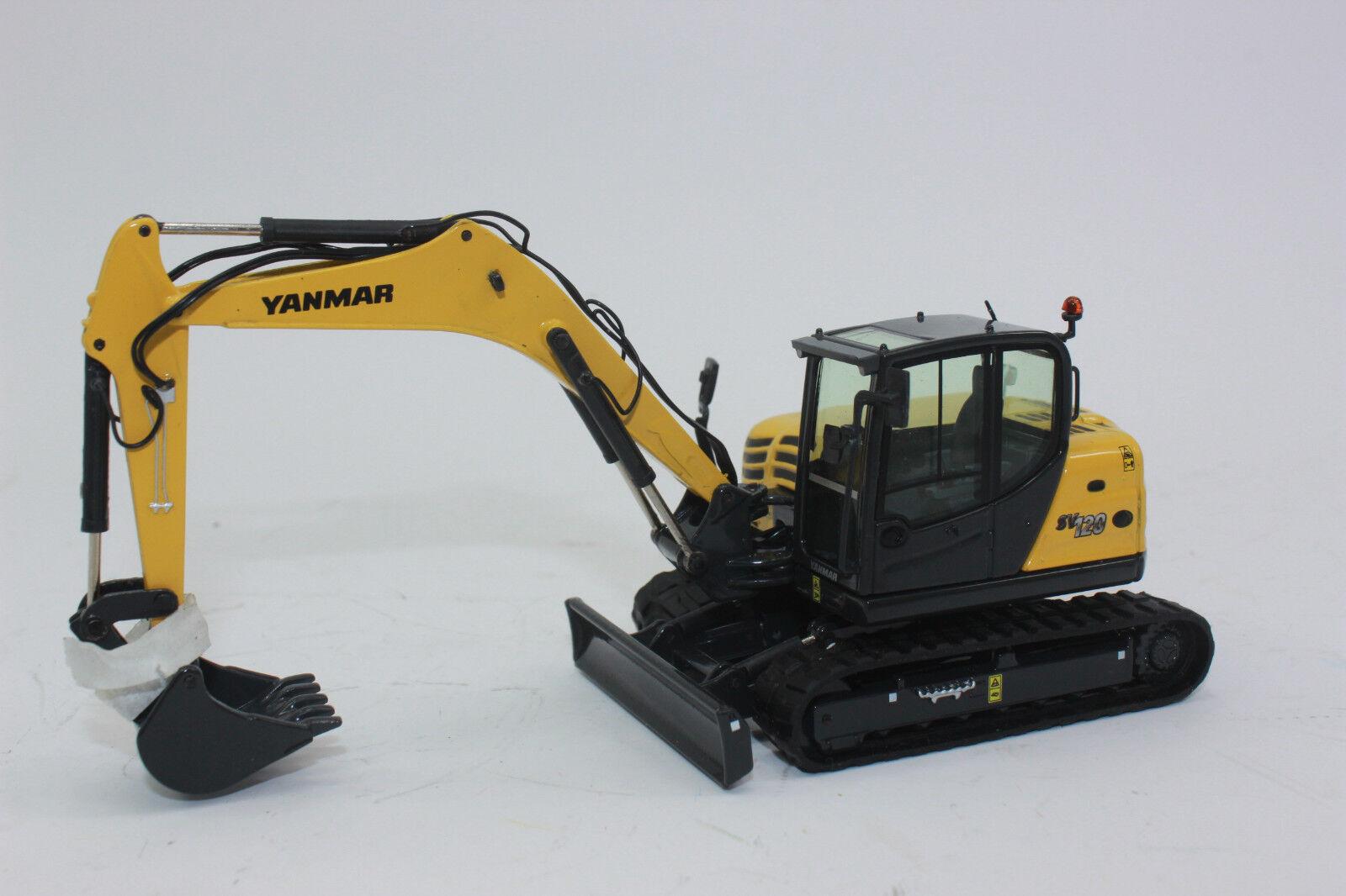 Nzg 975 Yanmar Sv120 Crawler Excavator 1 50 New Boxed