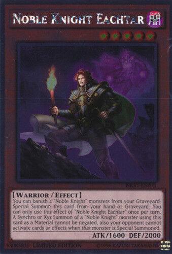 Noble Knight Gawayn NKRT-EN004 X 2 Mint YUGIOH
