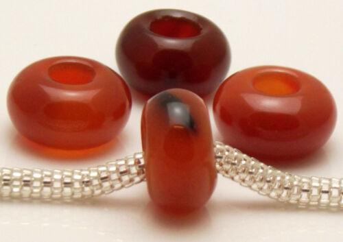 ♥ European Bead Gemstone Edelsteine Bergkristall Jade Tigerauge Sodalith ♥