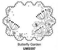 Sue Wilson Stamps to Die For - Butterfly Garden