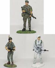 Frontline DeAgostini 54mm 1/32 truppe speciali/FIGURE DI POLIZIA-Confezione da 3