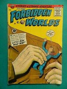 1961-Vintage-Forbidden-Worlds-97-American-Comic-Group-Comic-Book-VG