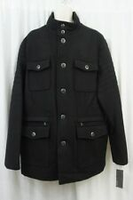 Kenneth Cole Reaction Mens Jacket Sz XXL Black Evening Dinner Casual Jacket