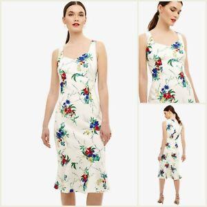Phase Eight Kleid Größe 12   Elfenbein Bethania Floral Style   OVP   130 £ UVP   NEU!