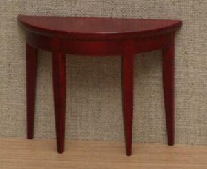 1:12 Dolls House Mahogany side table