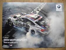 BMW M4 DTM BMW Team RBM Tom Blomquist Poster  Motorsport Racing Car M4 DTM