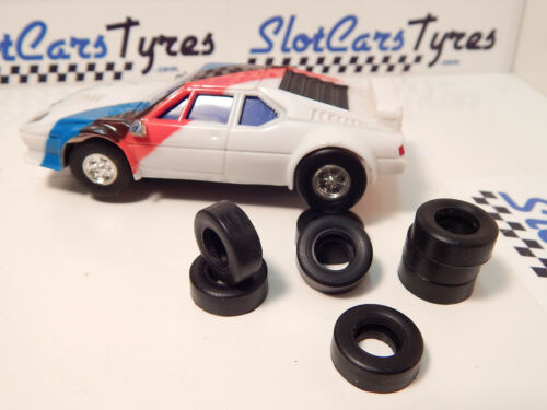 8 pneus AR uréthane BMW ARTIN 1//43 Largeur 6