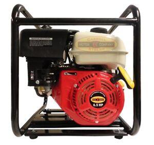 3 Quot Gas Water Pump Semi Trash Pump 6 5 Hp 3 Inch Inlet