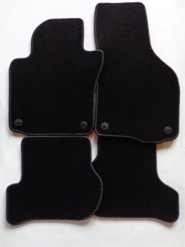Autoteppiche Fußmatten  für VW Scirocco 3 III ab 2008-2015 schwarz