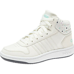 Details about Adidas Kids Girls Boots Shoes Hoops Mid 2 Sporty Sneaker Fashion Girl New B75751