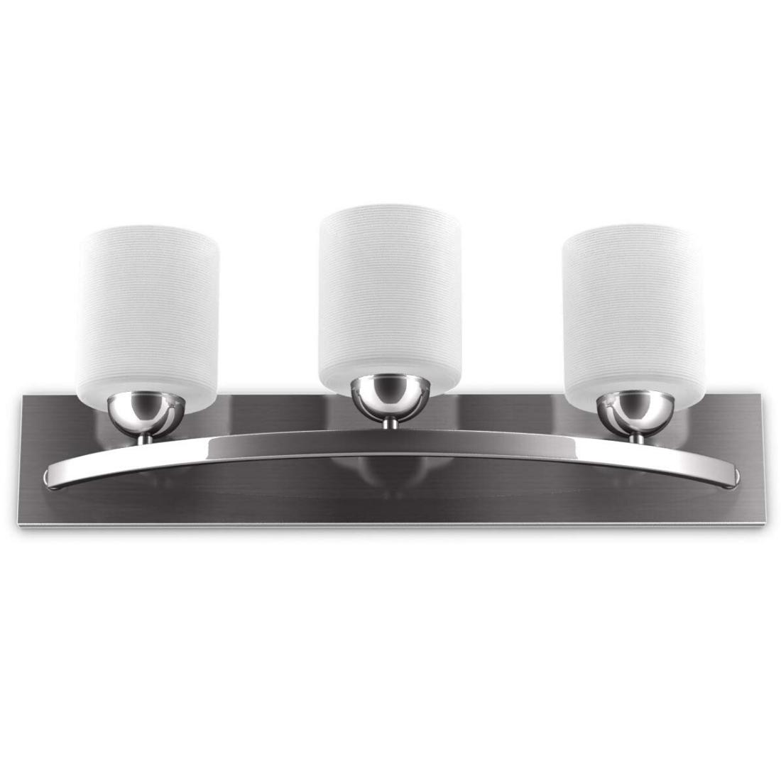 Image of: 5 Light Brushed Nickel Vanity Lights Bathroom Wall Lighting Fixtures Traditional For Sale Online Ebay