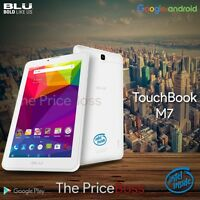 Blu Touchbook M7 P270 7 Hd Intel Dual Sim Tablet Gsm Unlocked Phone White