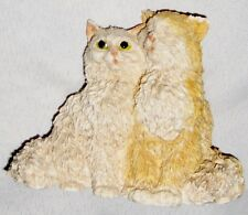 "Tan Castagna Italy 3"" Kitty Cat Figurine Pair"