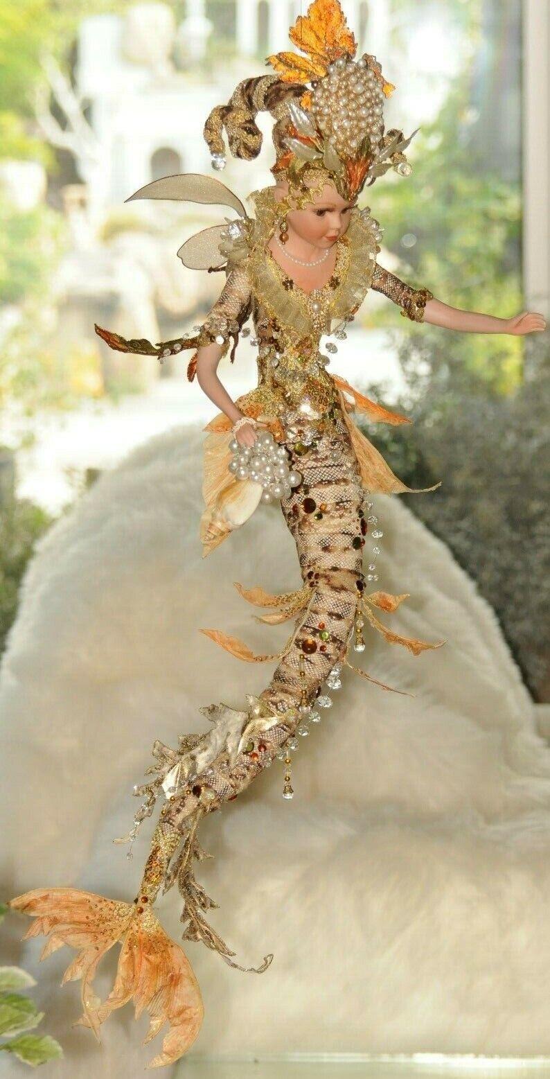 OOAK Mythical Tiger Mermaid, 30''