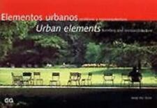 Urban Elements : Furniture and Microarchitecture by Josep M. Serra (1996,...
