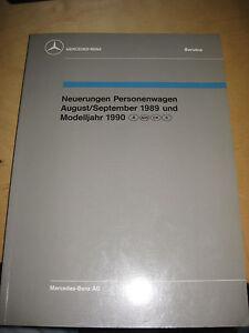 Mercedes-Service-Neuerungen-PKW-1989-90-W-124-300-E-TE-CE-M-102-104