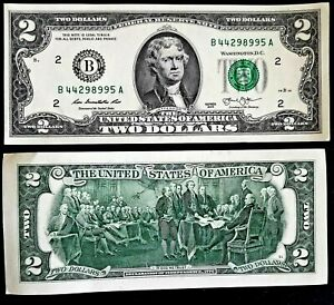 Two-Dollar-Bill-2-Note-2013-034-New-York-034-Free-shipping-in-Canada